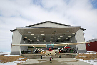 WESTLOCK AIRPLANE HANGAR TWO