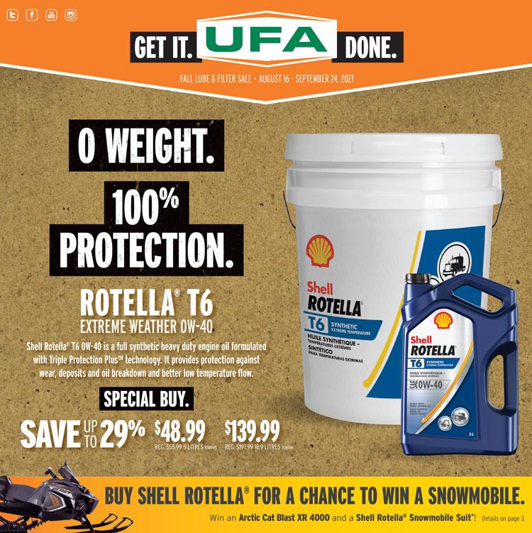 UFA Lube & Filter Flyer