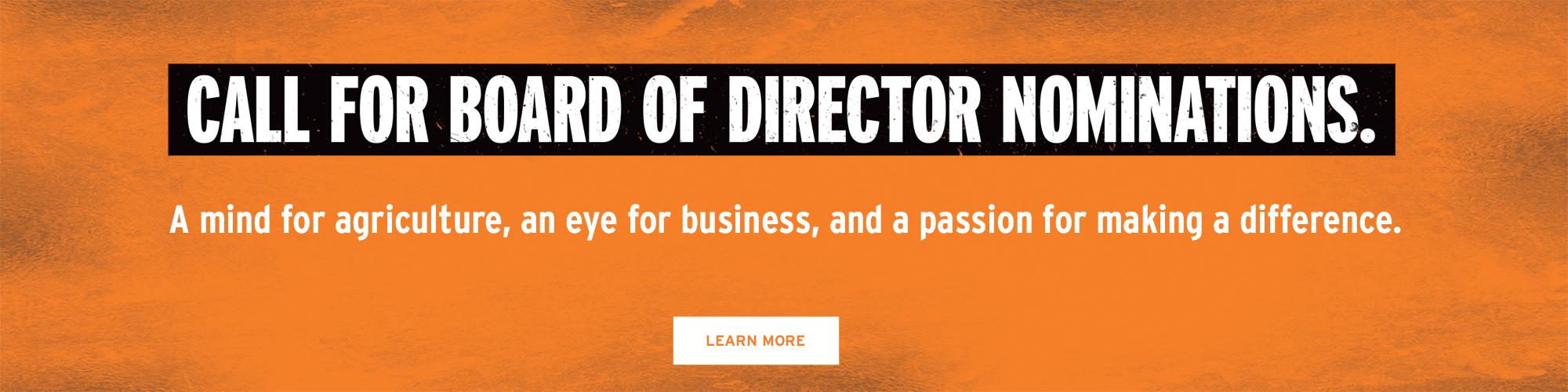 Board of Directors Nomination