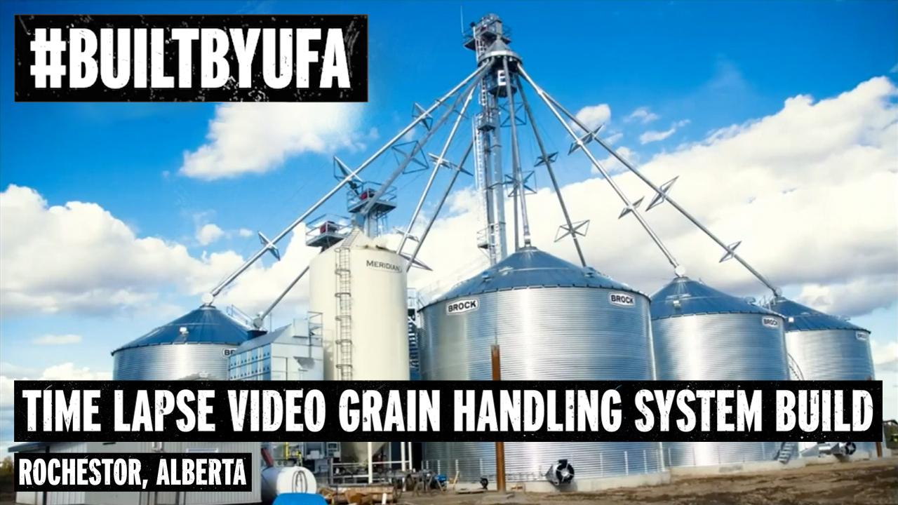 Polak Grain Handling System Build