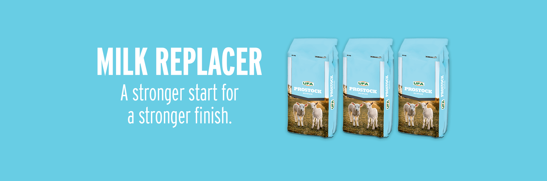 Milk Replacer - A Stronger Start for a Stronger Finish